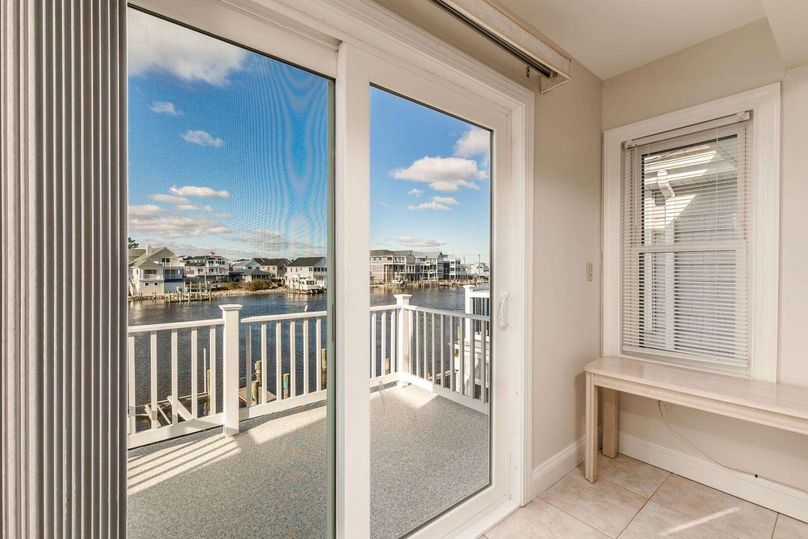 View from Master Bedroom of Sunset Harbour 14127B