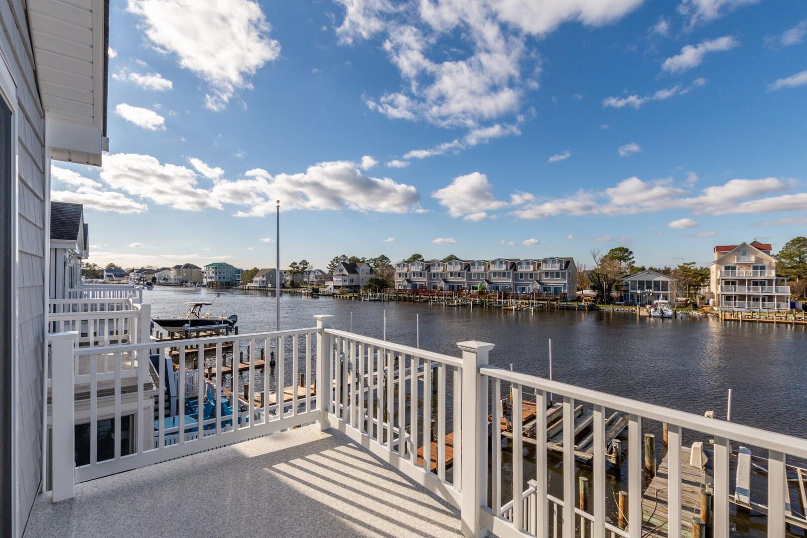 View from Master Bedroom Balcony of Sunset Harbour 14127B