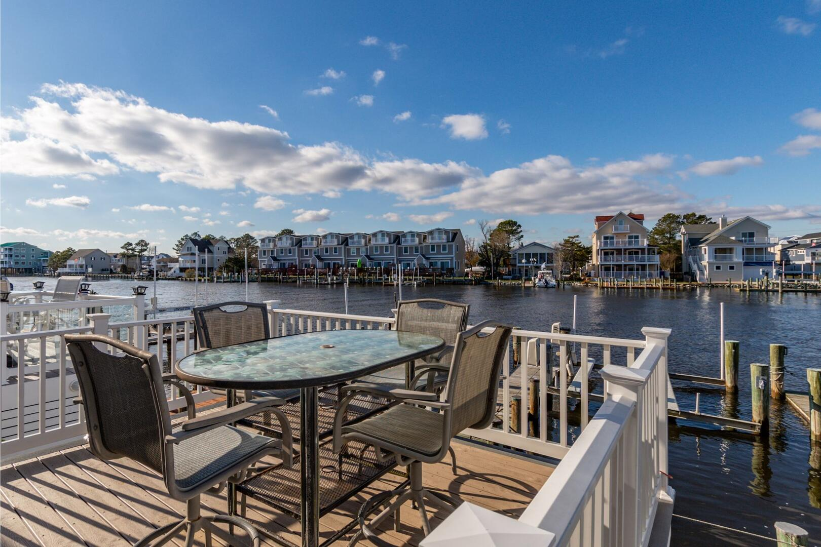 Waterfront Deck of Sunset Harbour 14127B