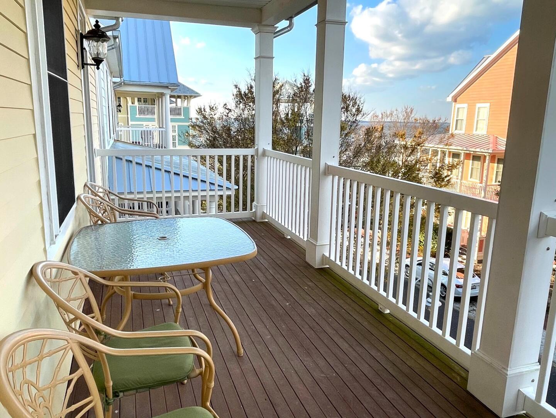 Balcony off of Master Bedroom - Sunset Island 55 Island Edge Dr.