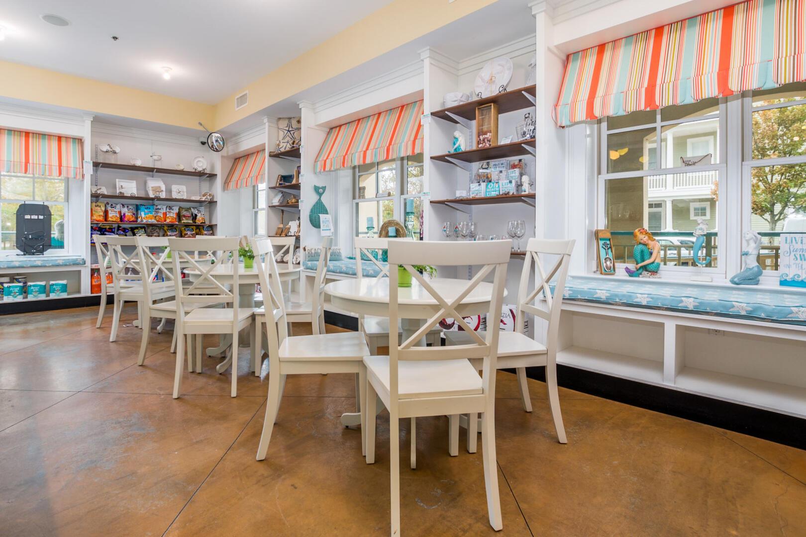 Sunset Island Snack Bar (open seasonally)