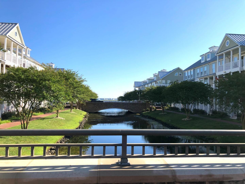Sunset Island Bridges and Waterways