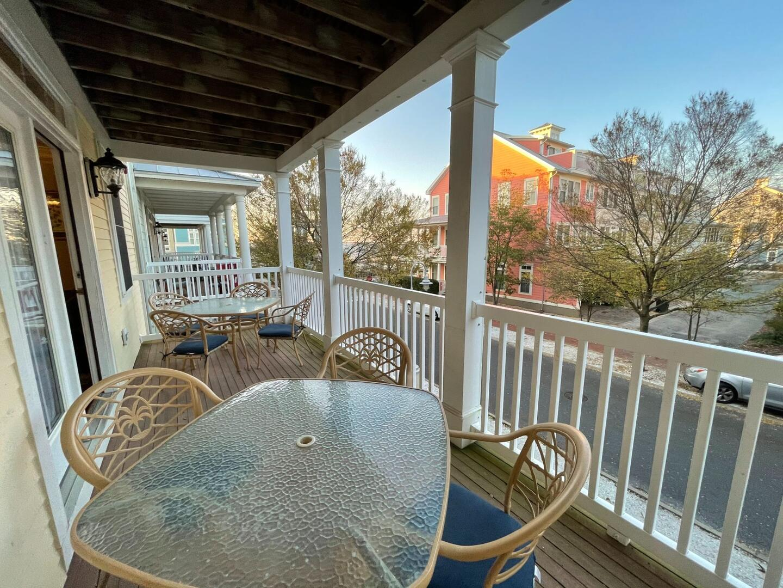 Balcony off of Living Room - Sunset Island 55 Island Edge Dr.