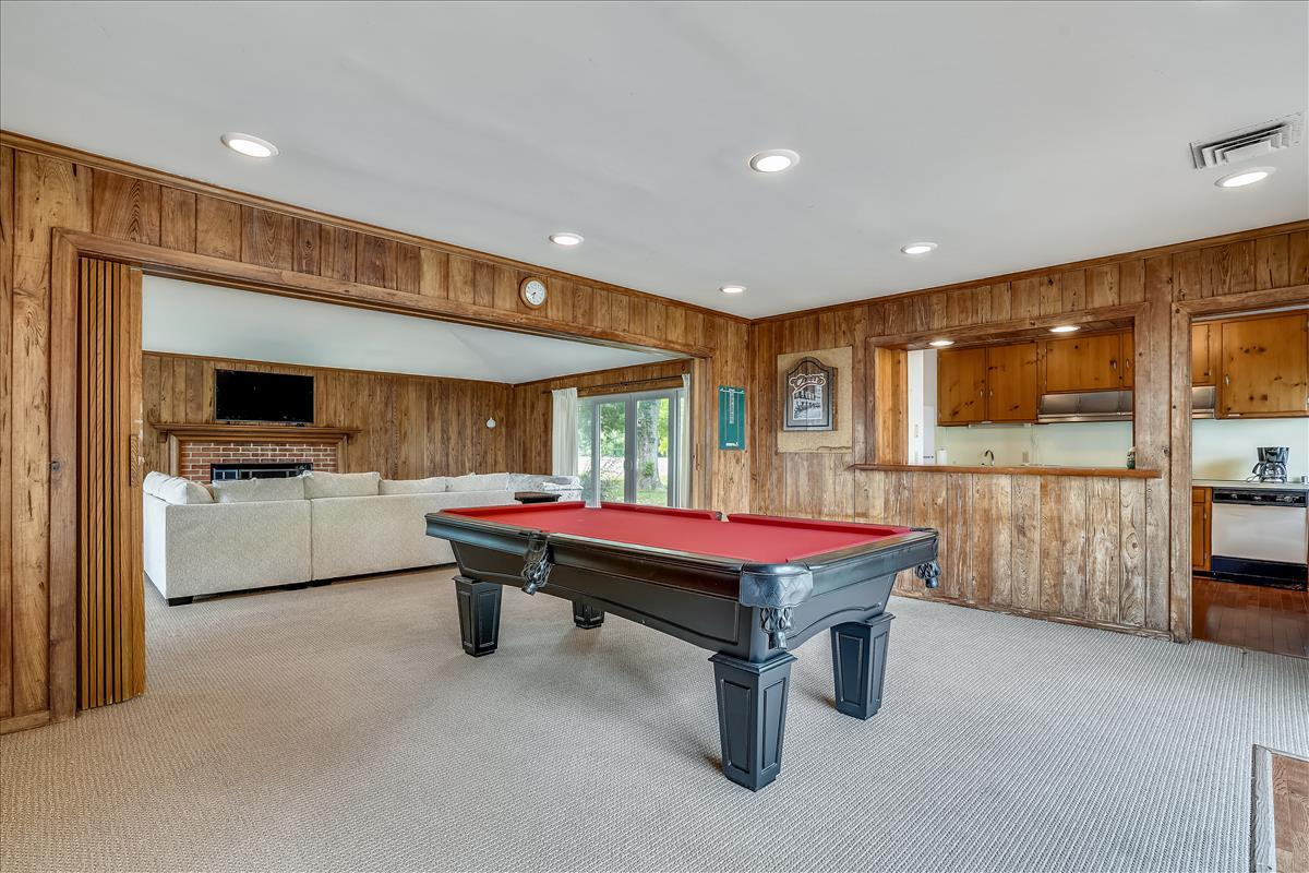Pool House Game Room