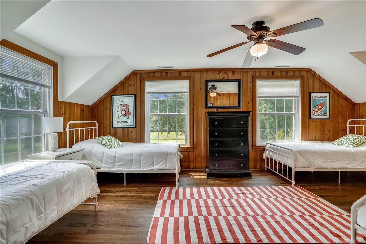 Main House Upper Level Over Garage Bedroom