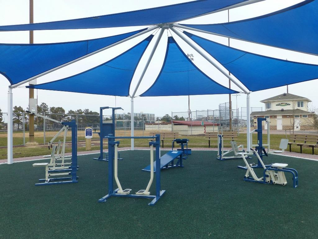 Northside Park outdoor gym