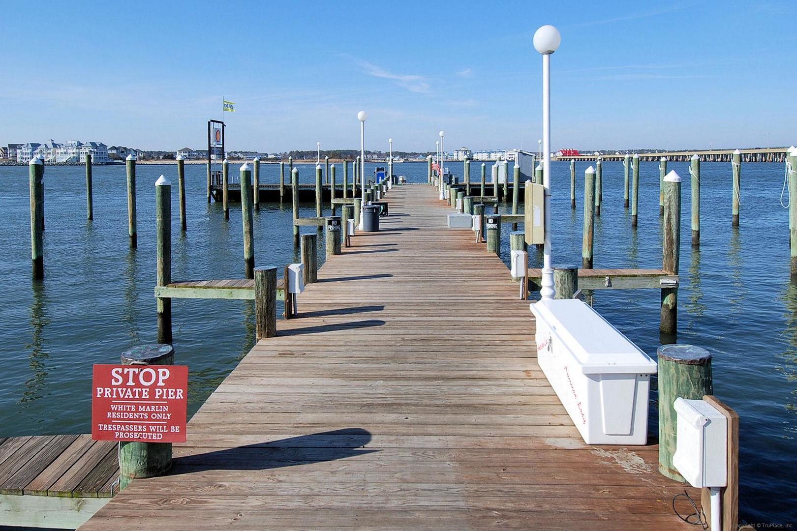White Marlin - Dock Area