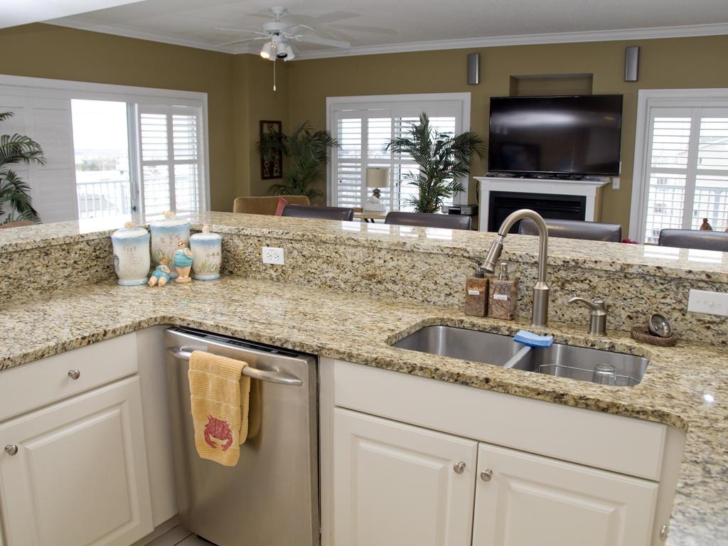 Ocean Bliss, 303 - Kitchen Area