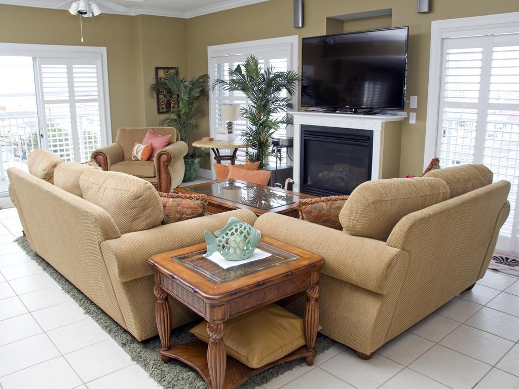 Ocean Bliss, 303 - Living Room
