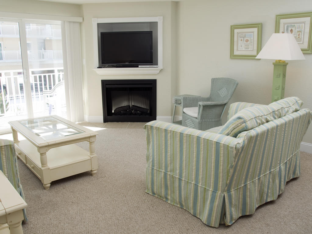 Sunset Beach, 108 - Living Room Area