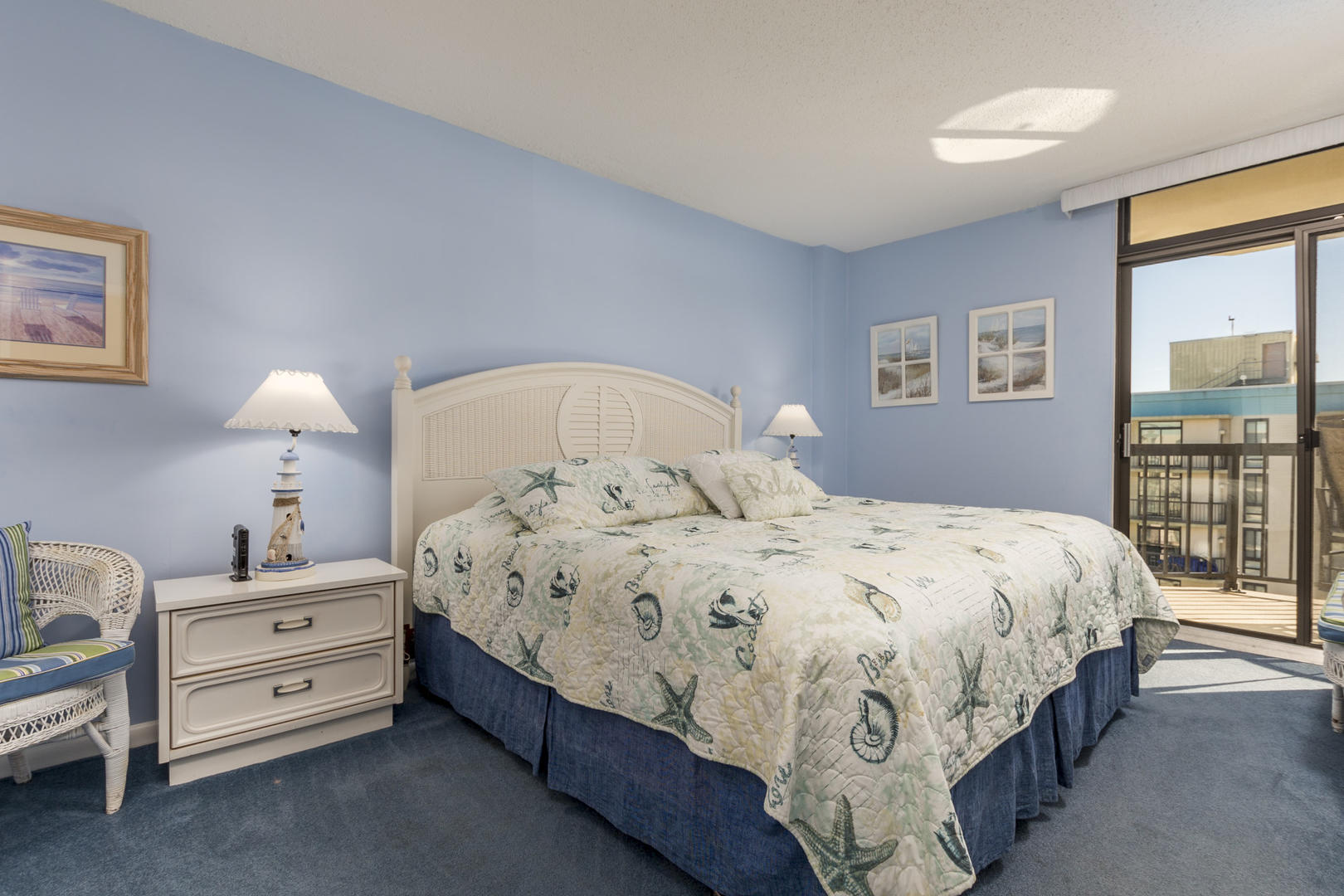 Braemar Towers 1006 - Master Bedroom