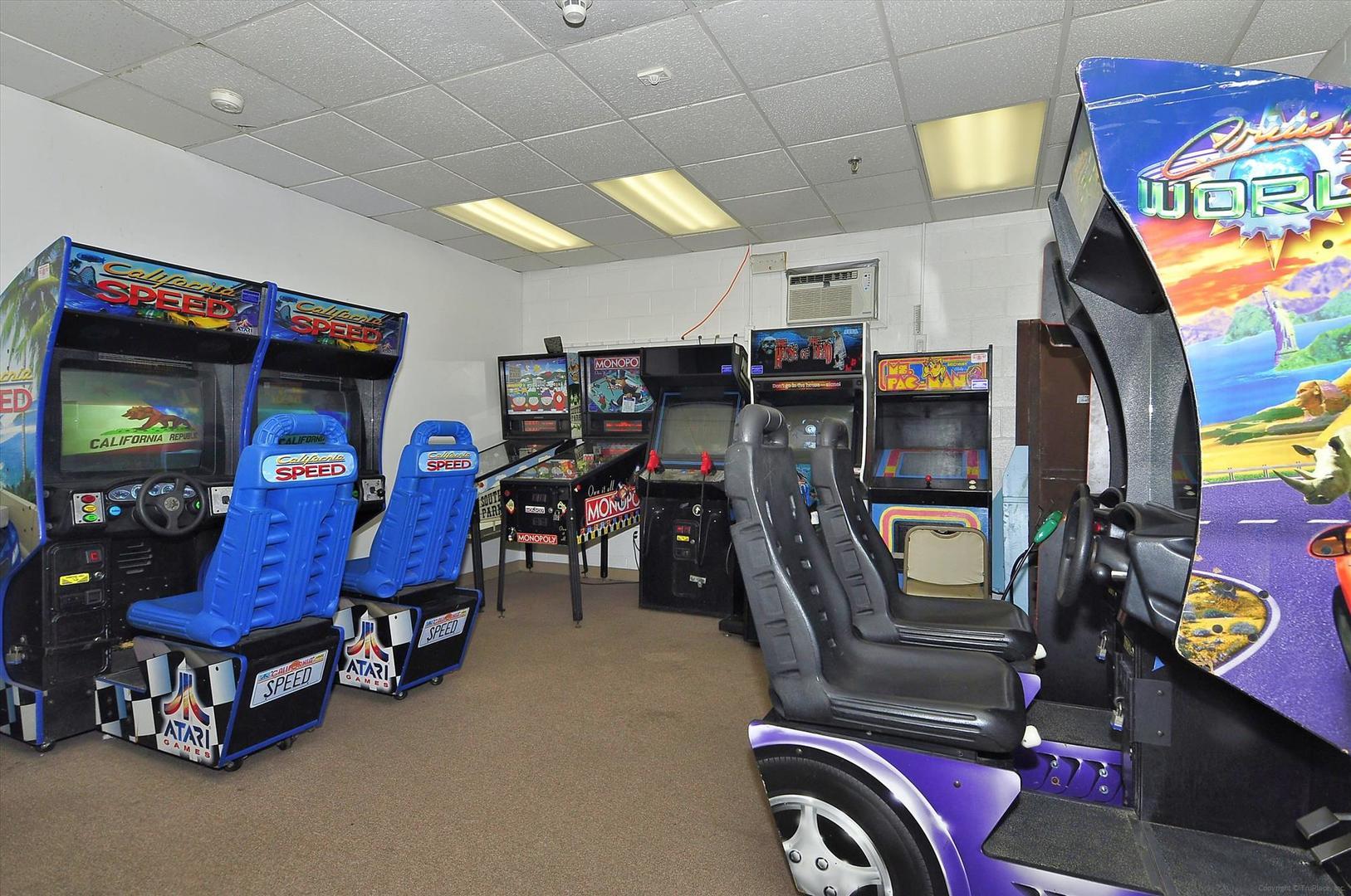 English Towers - Game Room