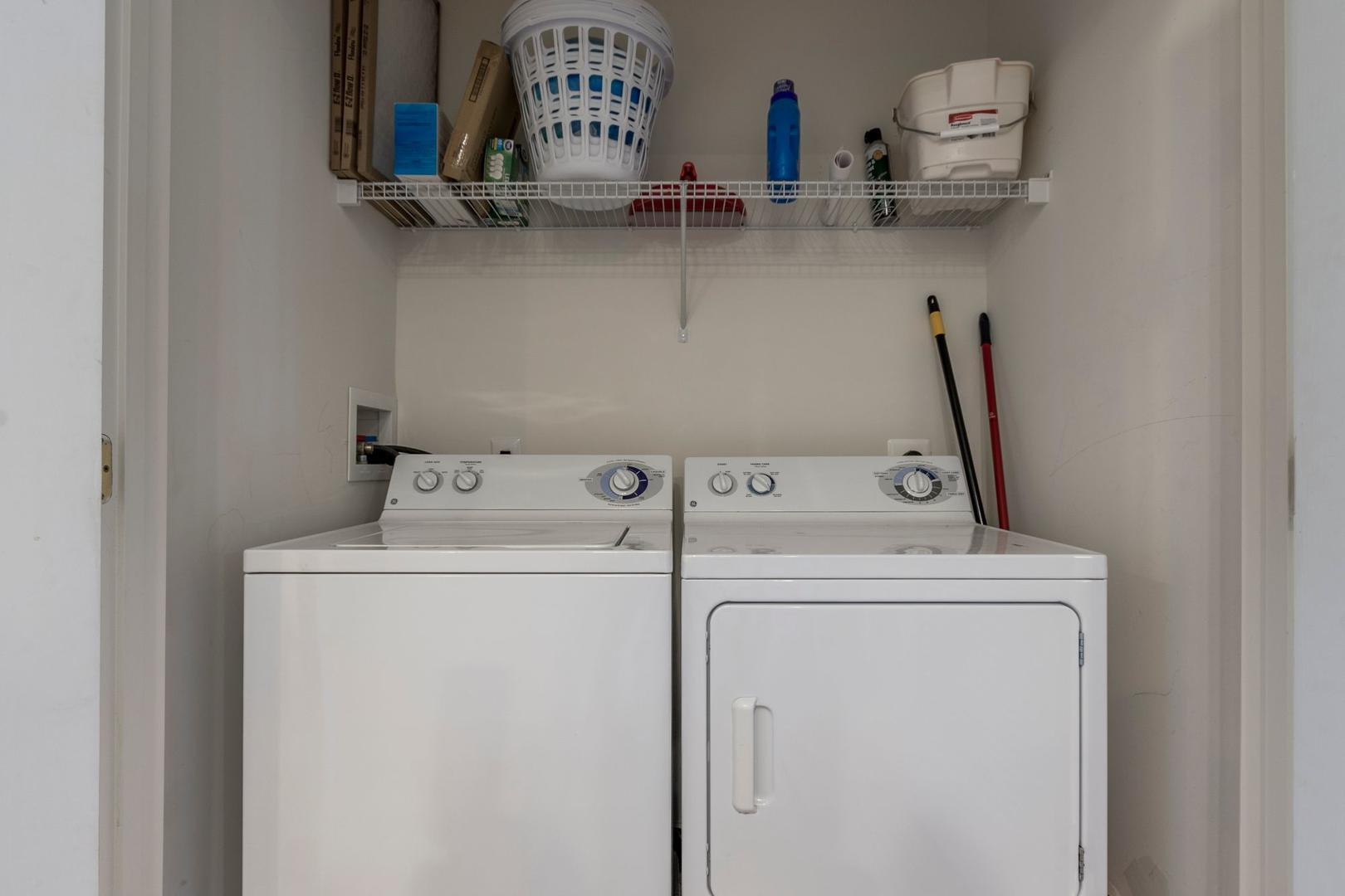 Sunset Island 1 FDE 2D - Washer and Dryer