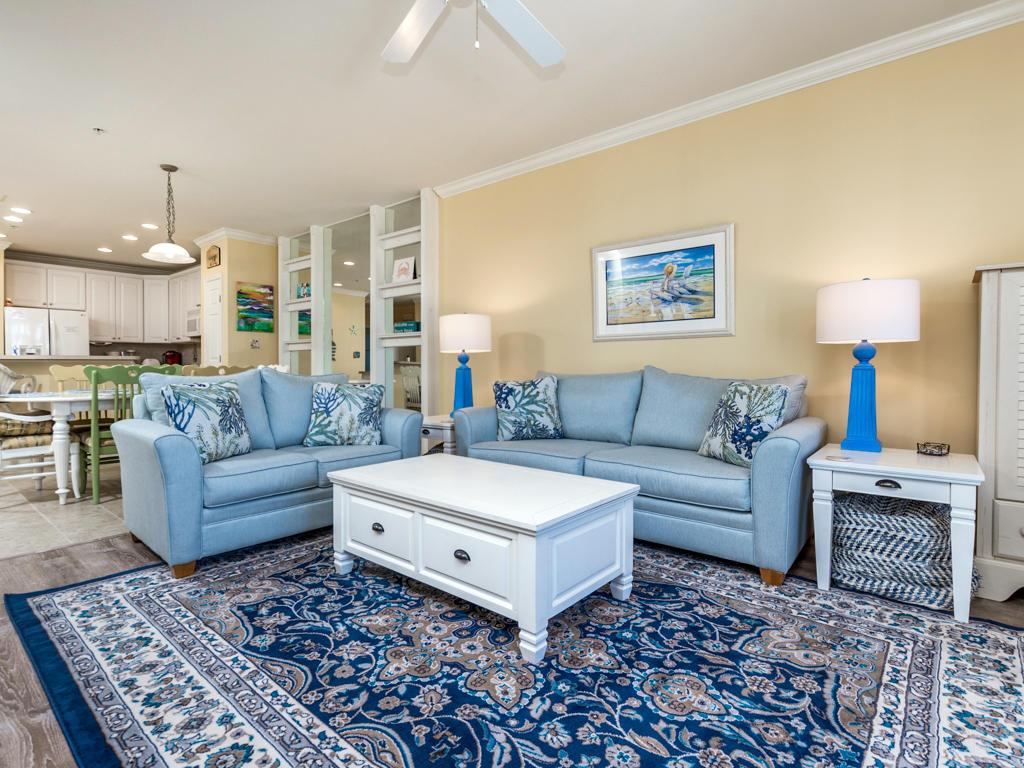 Sunset Island, 4 Fountain Drive East, Unit 2B - Living Room