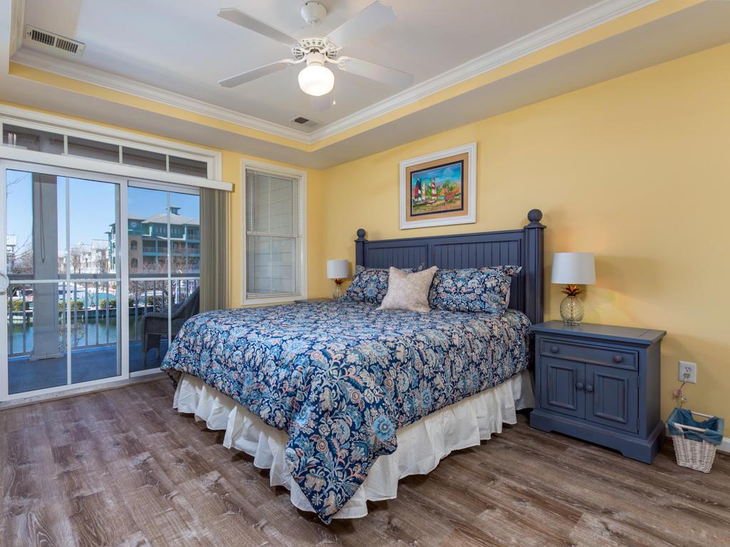 Sunset Island, 4 Fountain Drive East, Unit 2B - Master Bedroom
