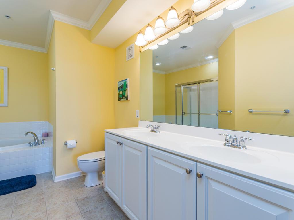 Sunset Island, 4 Fountain Drive East, Unit 2B - Master Bathroom