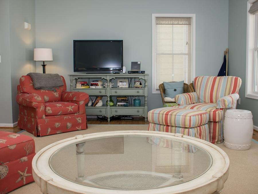 Sunset Island, 17 Beach Walk Lane - Living Room Area