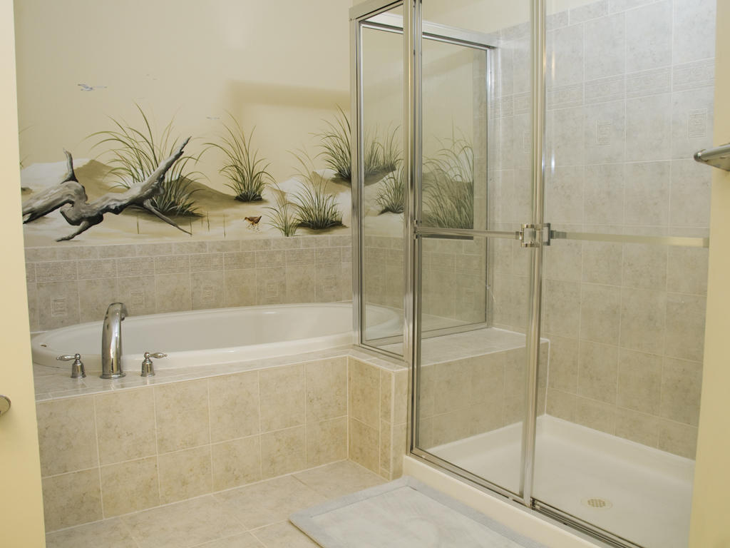 Sunset Island, 6 Hidden Cove Way, 3B - Master Bathroom