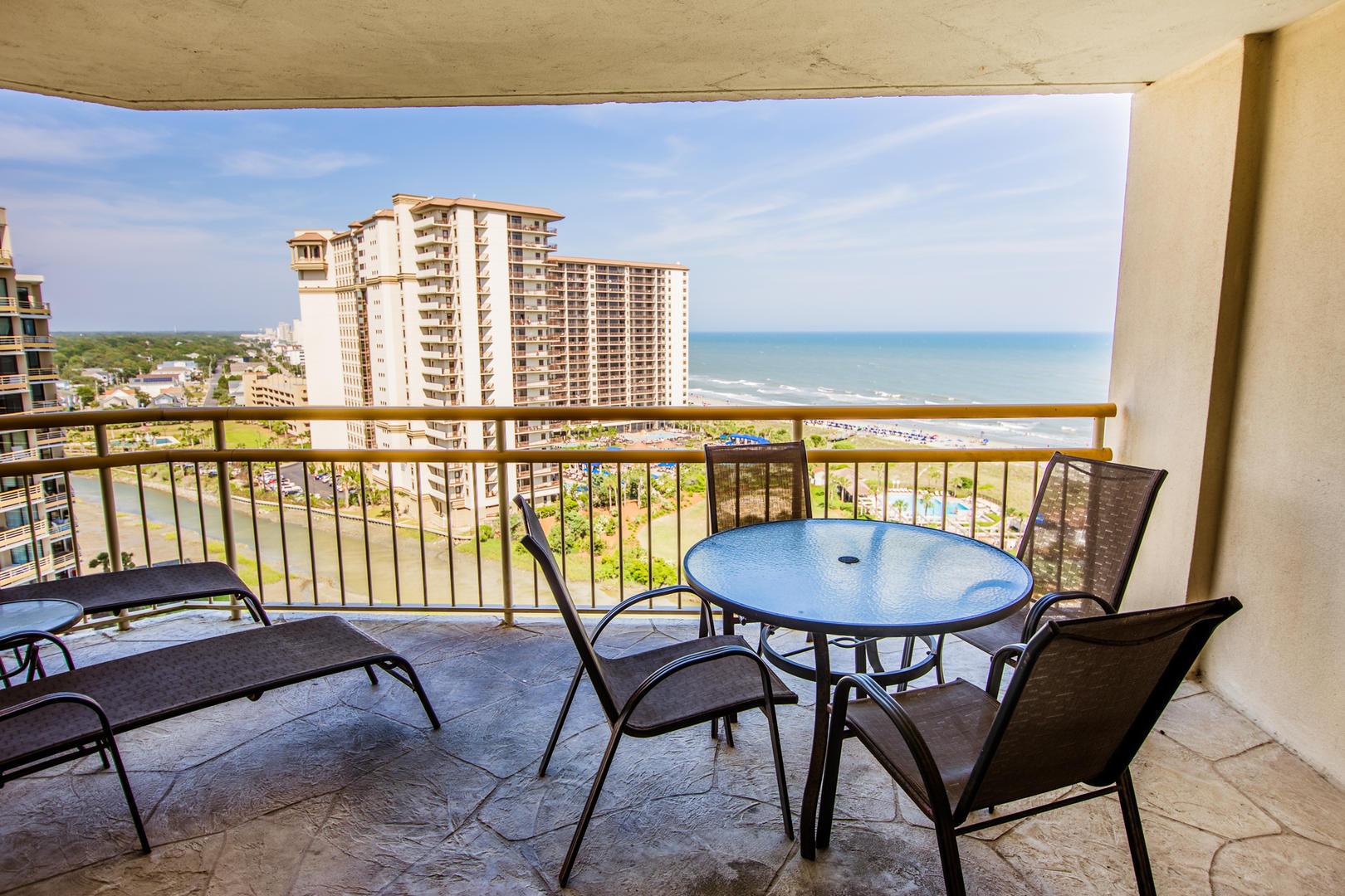 Ocean Creek EE13 - Living Room Balcony