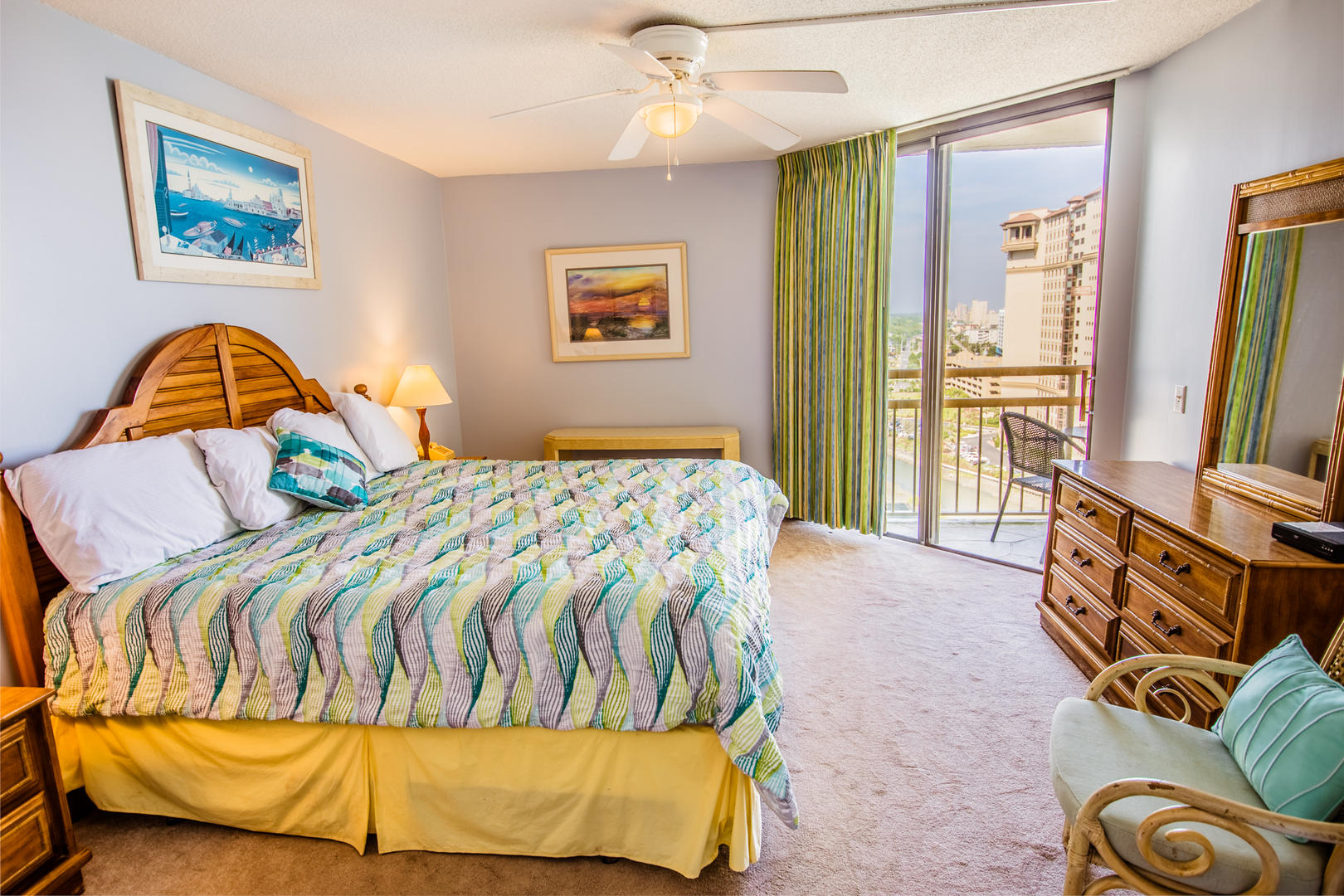 Ocean Creek EE13 - Master Bedroom