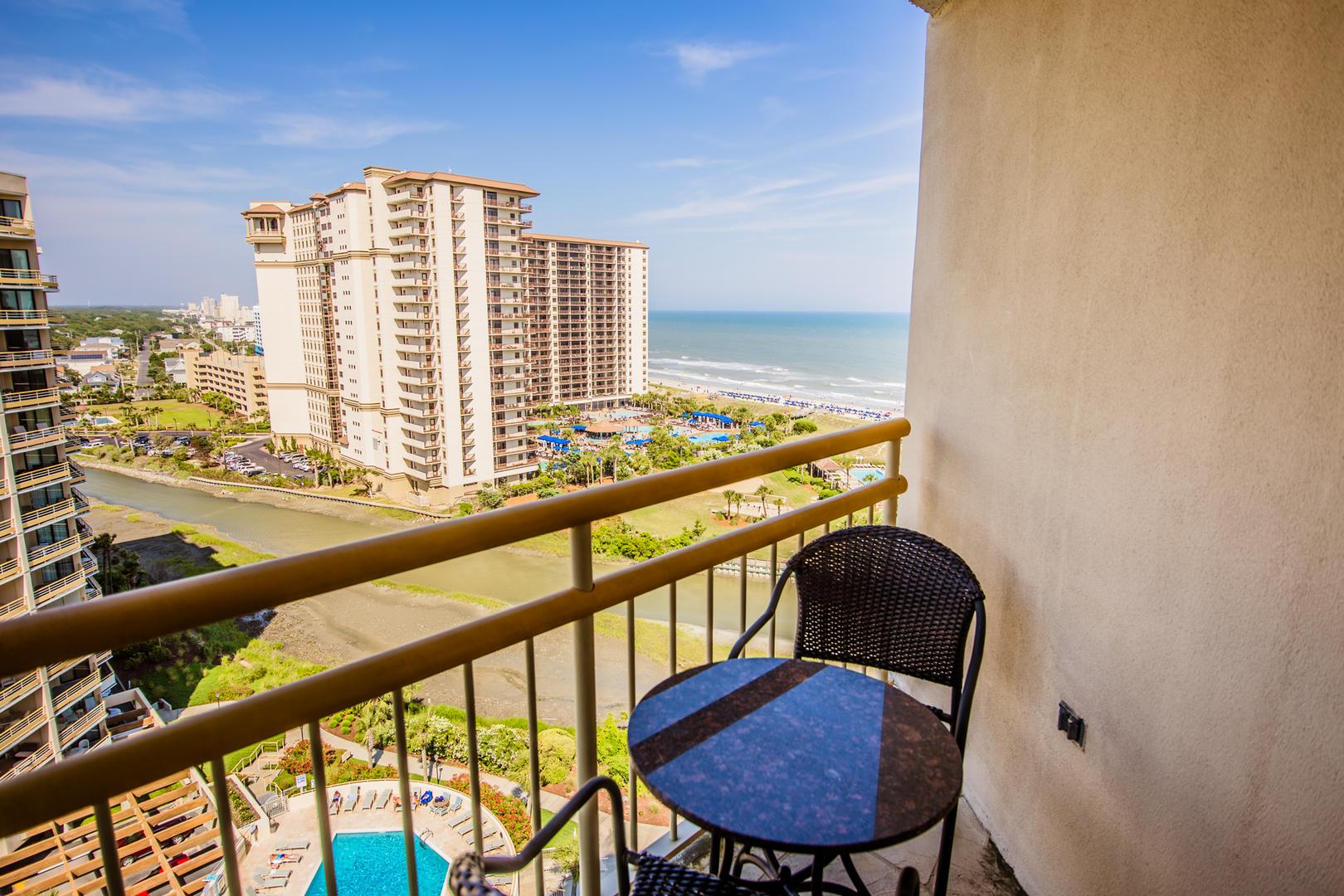 Ocean Creek EE13 - Master Bedroom Balcony