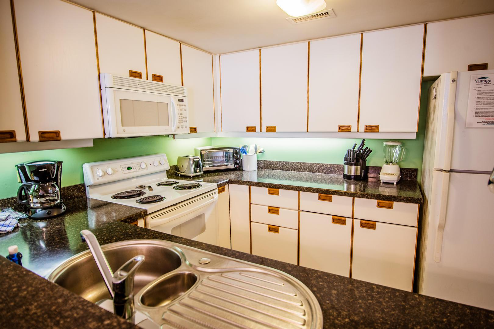 Ocean Creek K2 - Kitchen