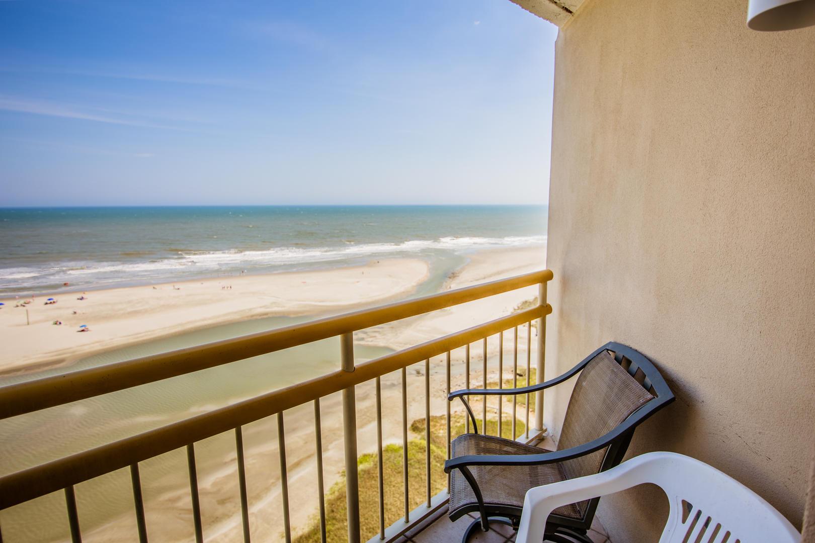 Ocean Creek KK11 - Bedroom Balcony