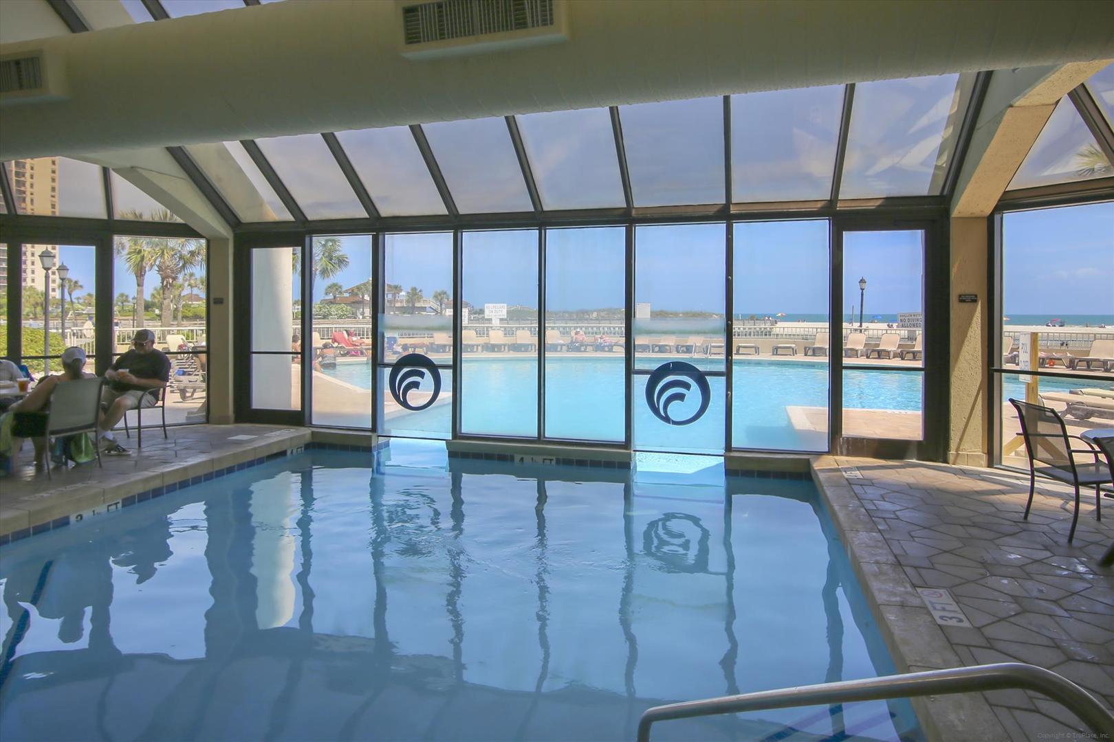 Ocean Creek South Tower Indoor Pool