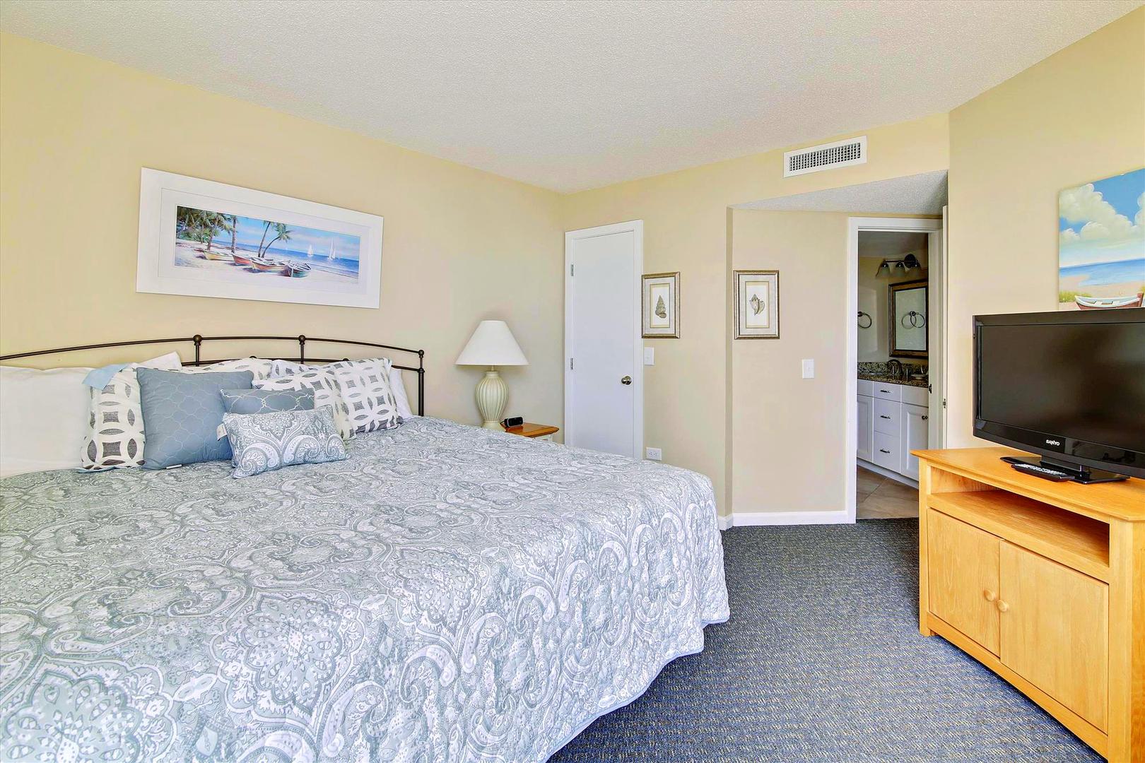 Ocean Creek LL1 - Master Bedroom