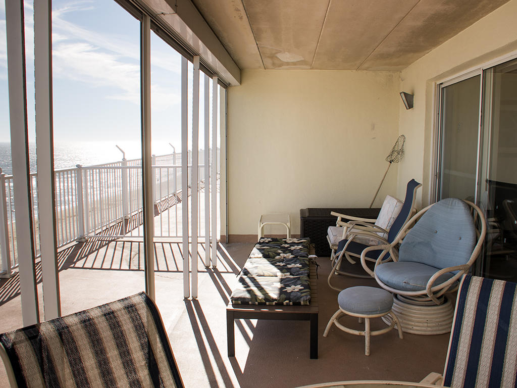 Calypso, 702 - Balcony Area