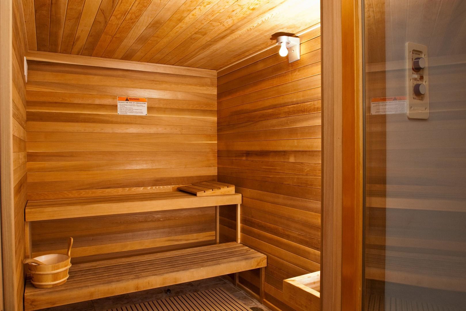 Belmont Towers Sauna