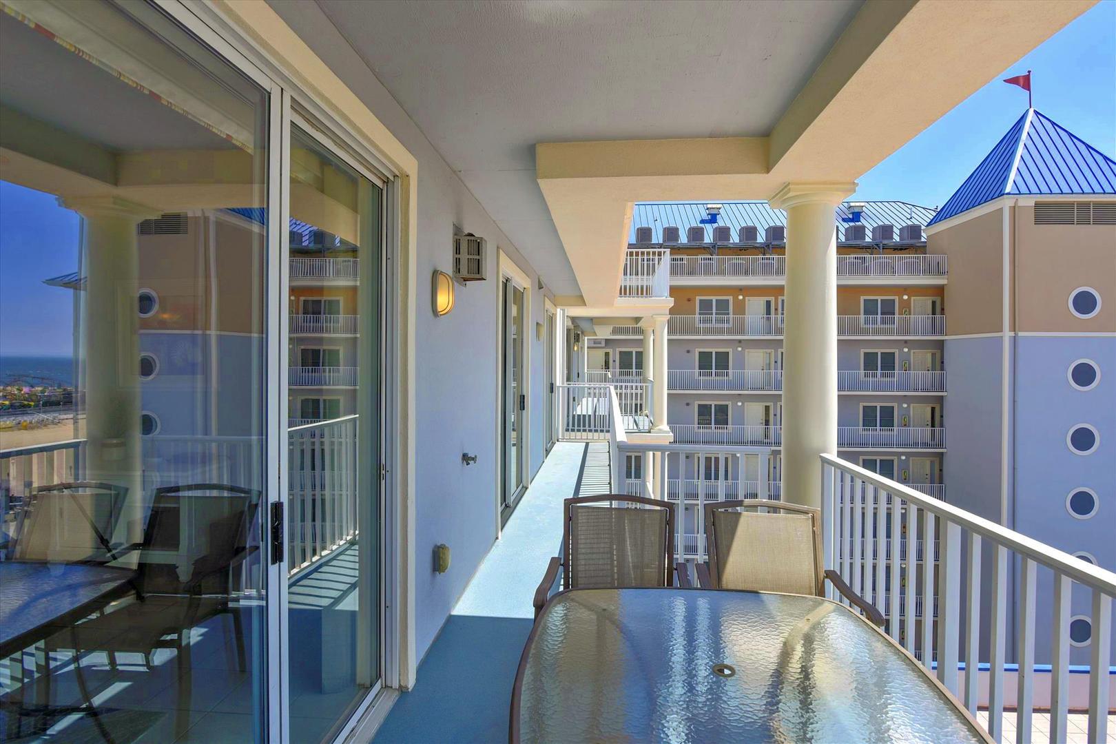 Belmont Towers 708 - Balcony