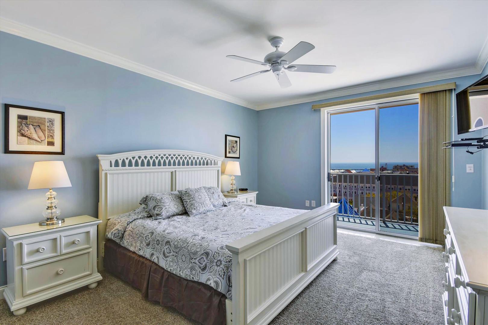 Belmont Towers 708 - Master Bedroom