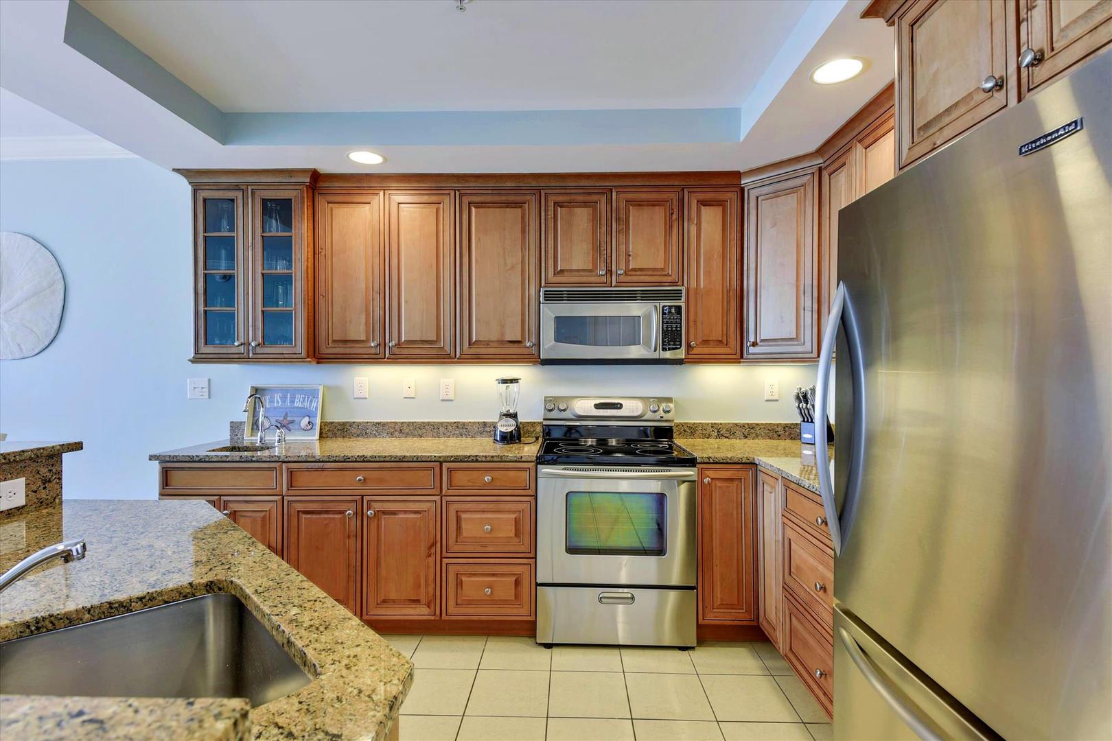 Belmont Towers 708 - Kitchen