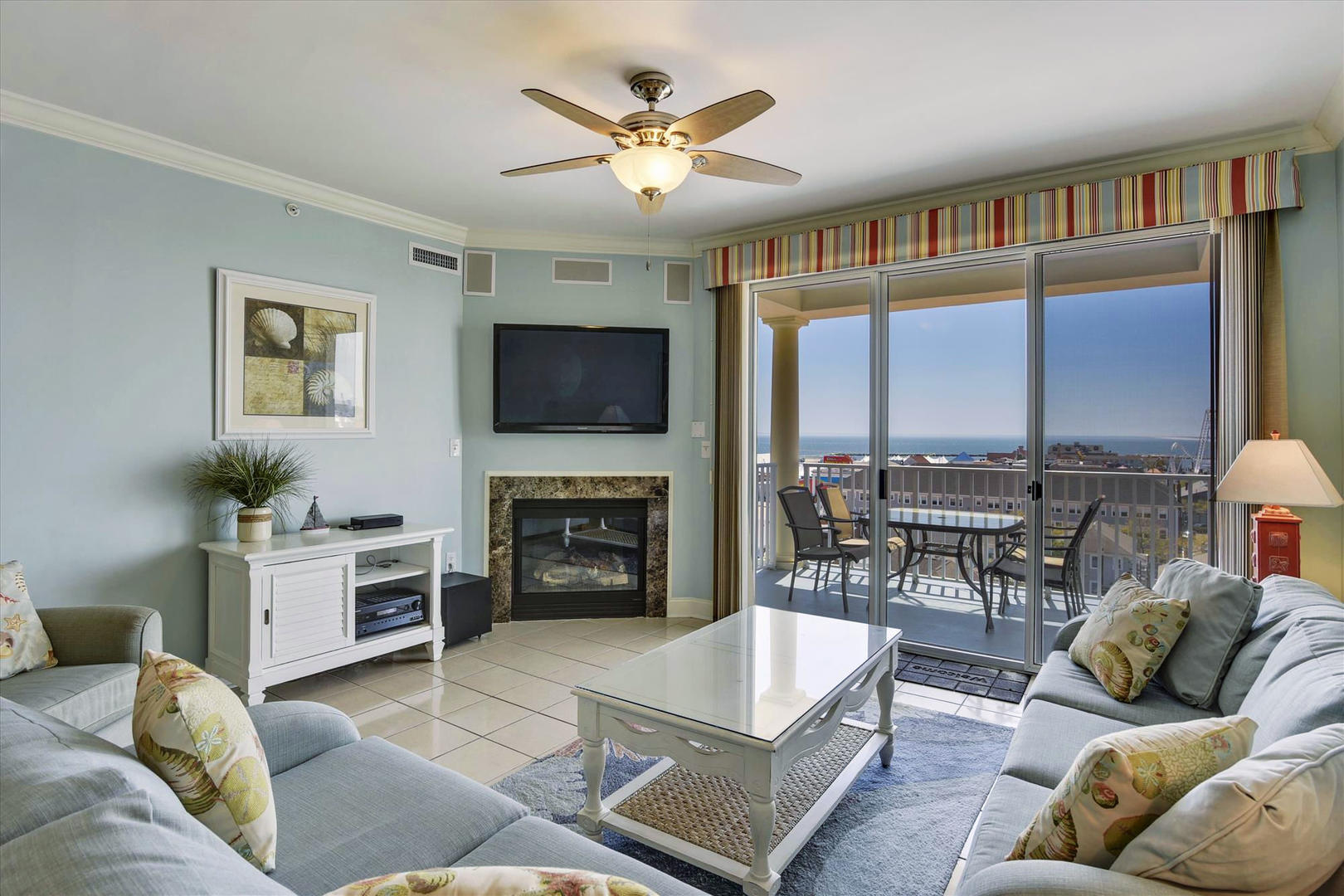 Belmont Towers 708 - Living Room