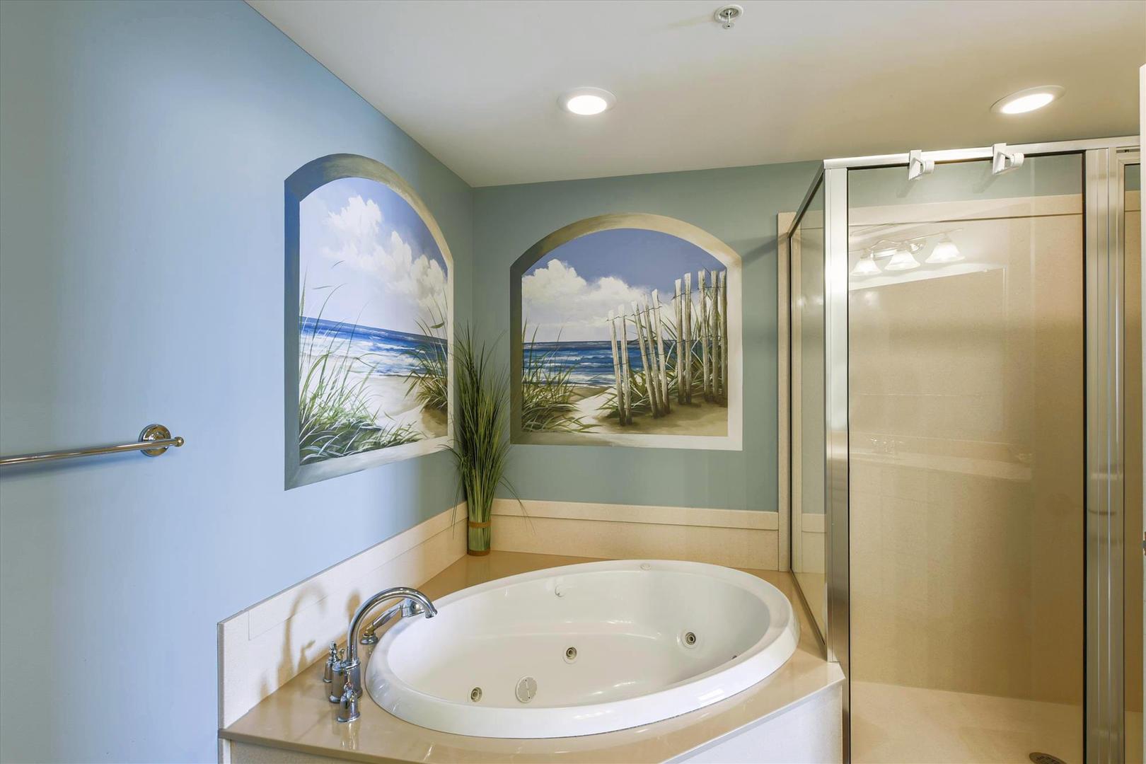 Belmont Towers 708 - Master Bathroom