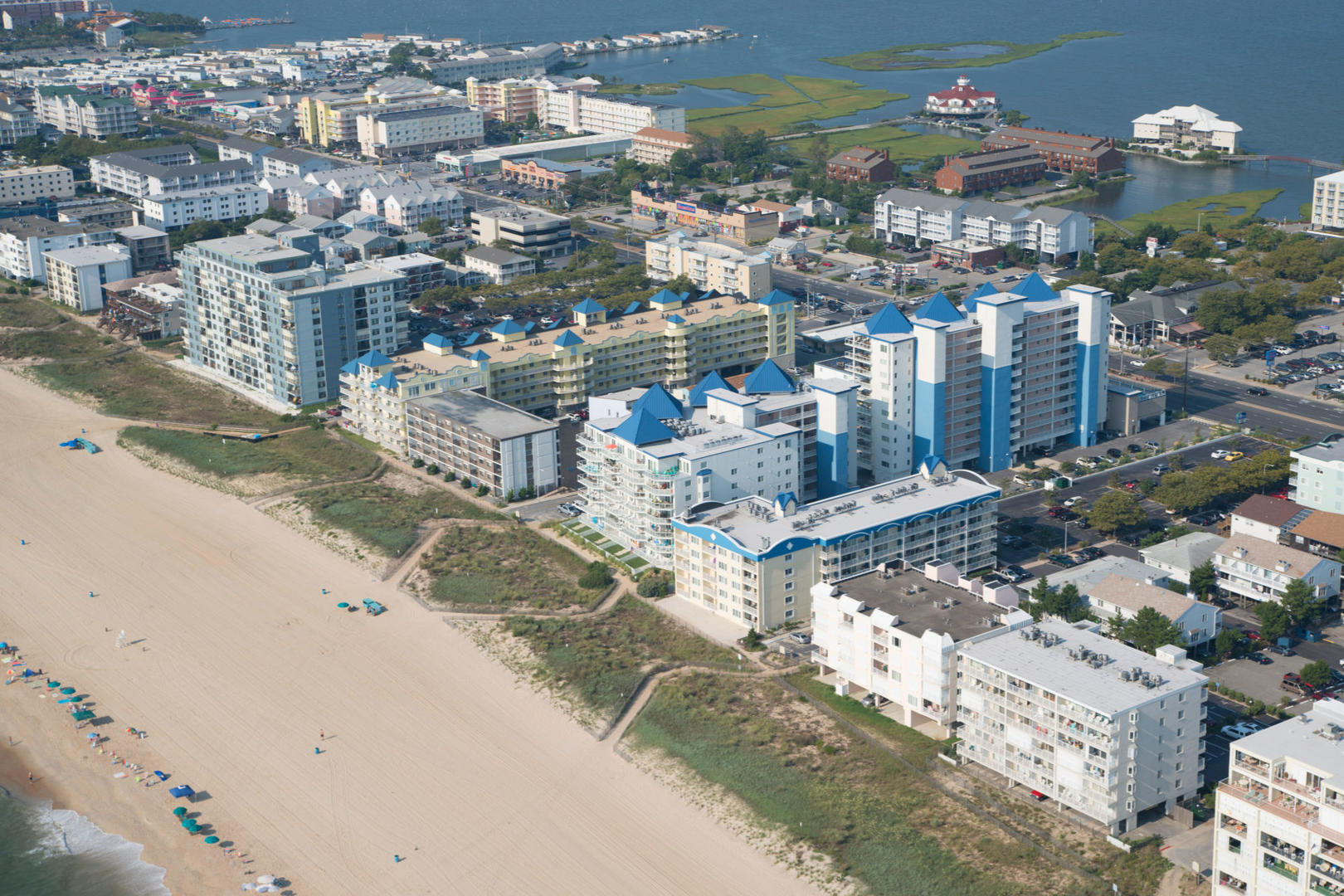 Aerial View of Meridian in Mid-Town OAerial View of Meridian in Mid-Town Ocean City