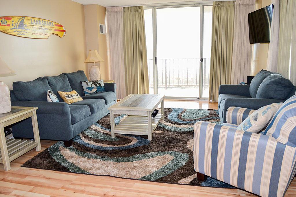 Surfside 84 Unit 8 - Living Room