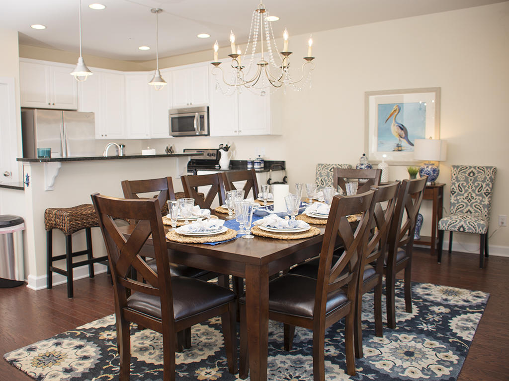 Broad Marsh, 110E - Dining and Kitchen Area