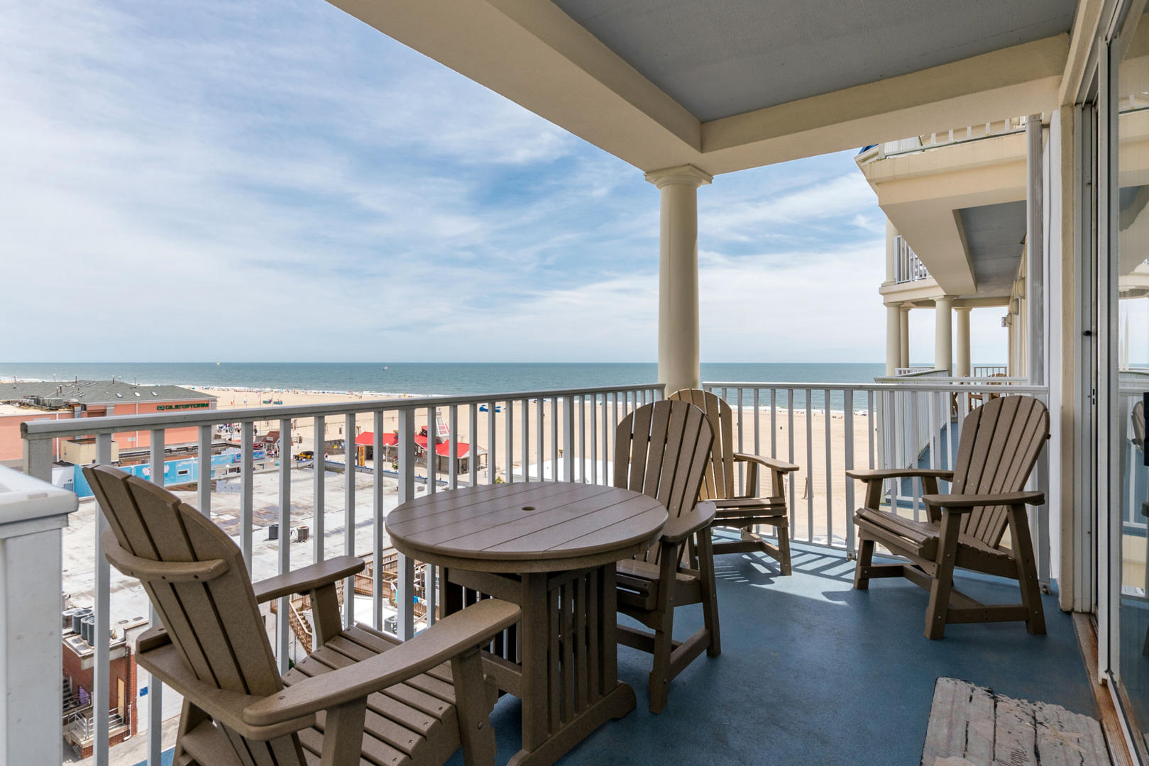 Belmont Towers 709 - Balcony and Ocean Views