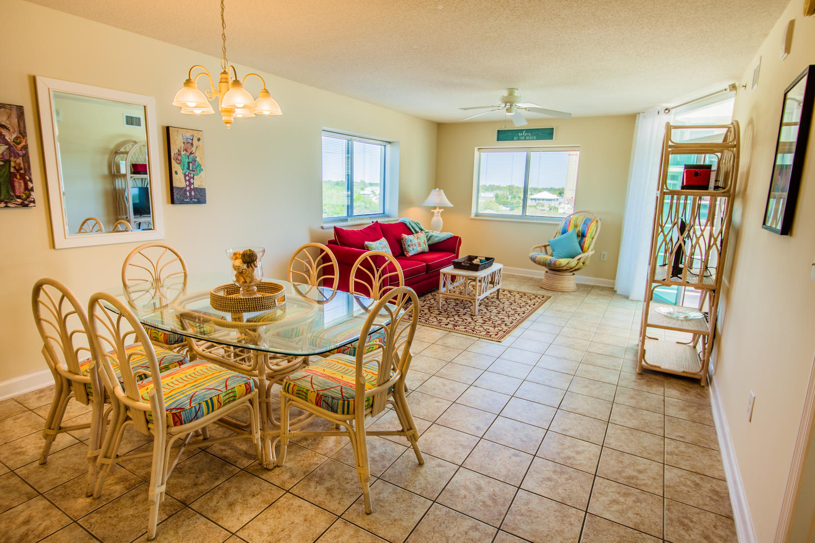 Blue Water Keyes 701 - Dining/Family Room