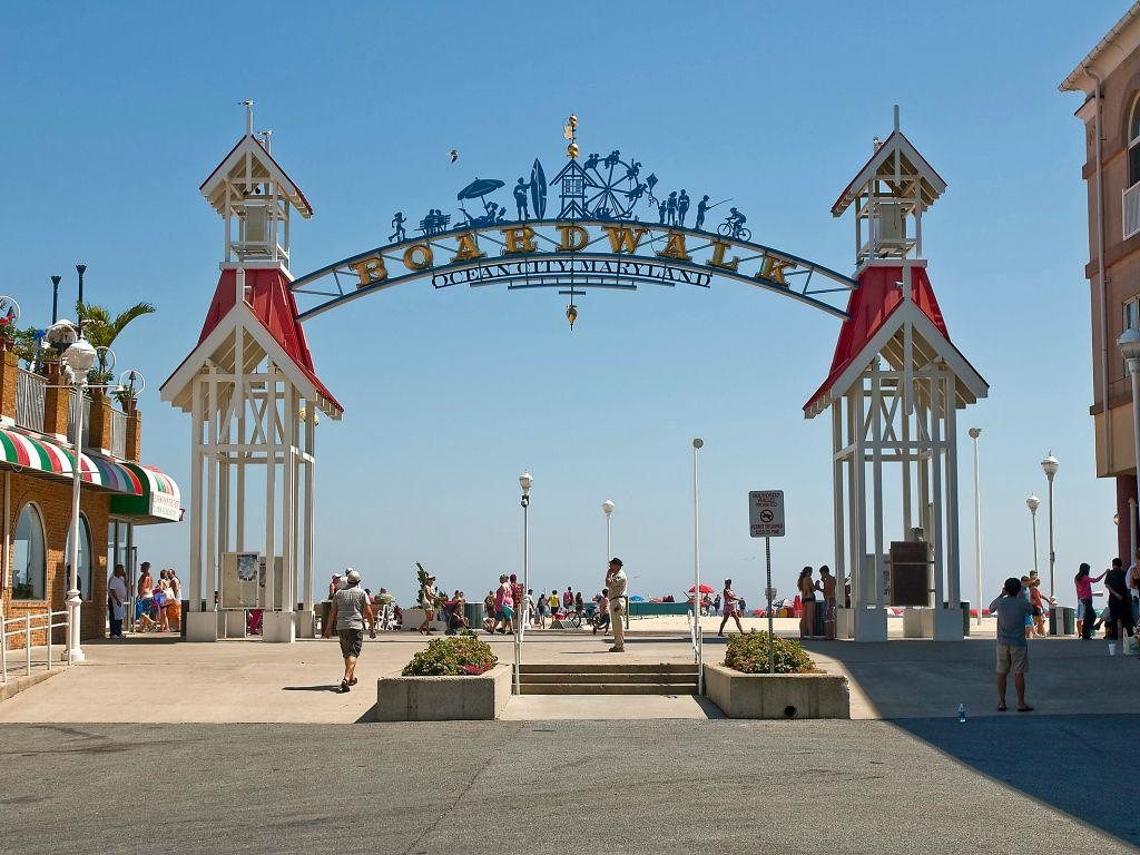 Short Drive or Bus Ride from Ocean City Boardwalk