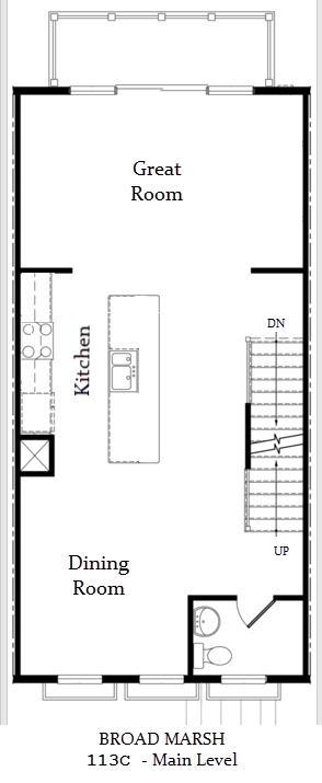 Broad Marsh, 113C - Floor Plan