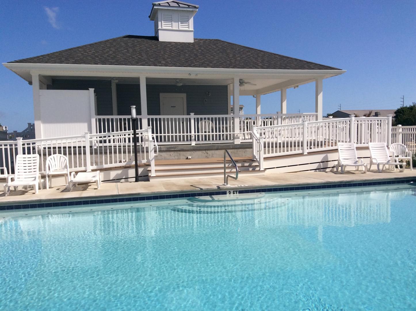 Broad Marsh - Pool Area and Club House