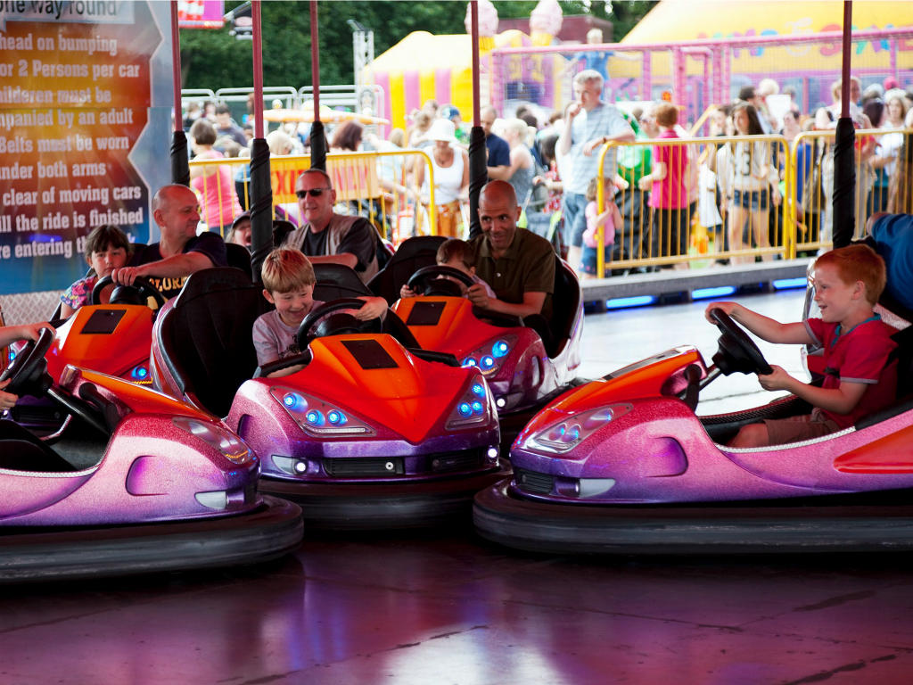 Short Drive from Nearby Amusement Rides