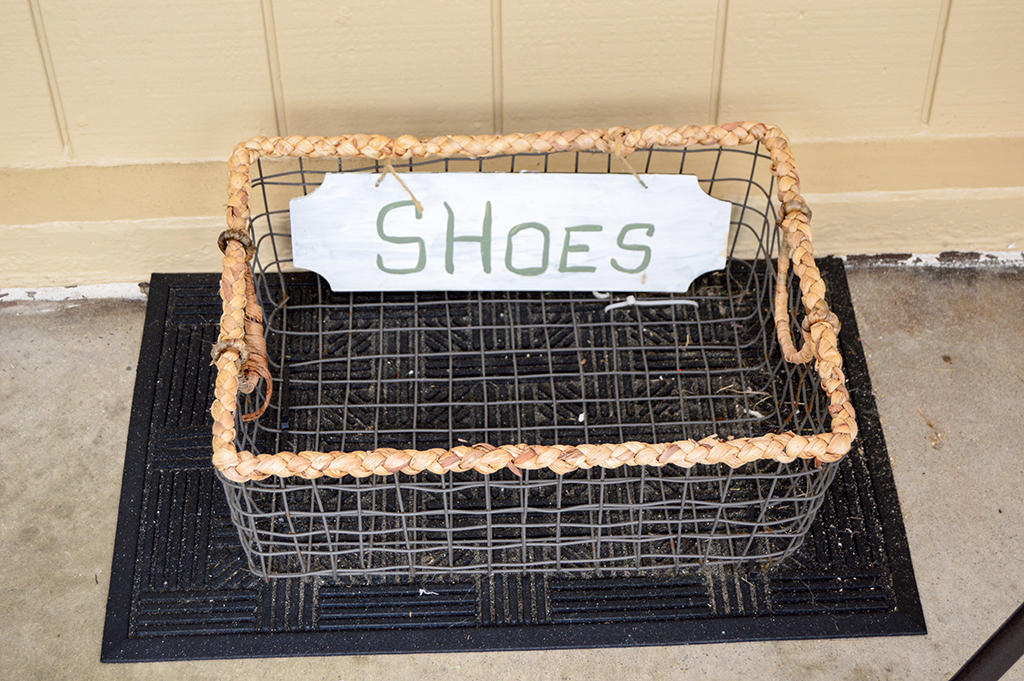 Constellation House N 102 - Shoe Basket