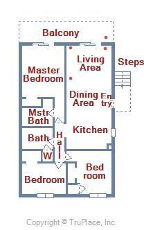 Floor Plan of Balmoral 107C