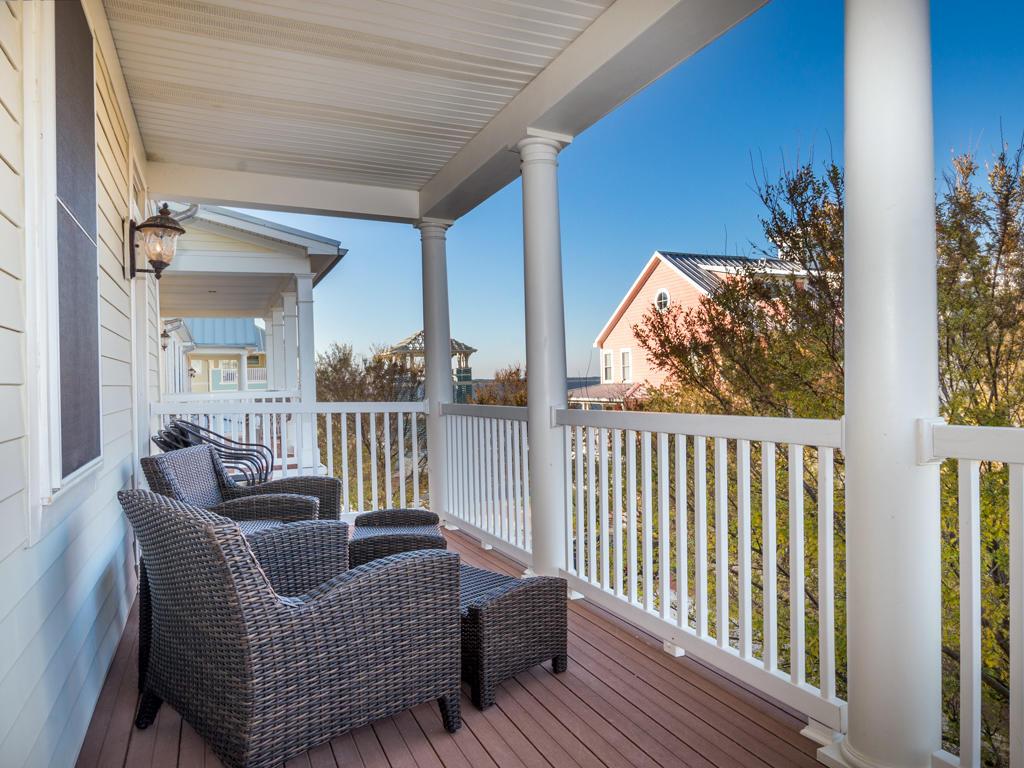 Sunset Island, 53 Island Edge Drive - Balcony