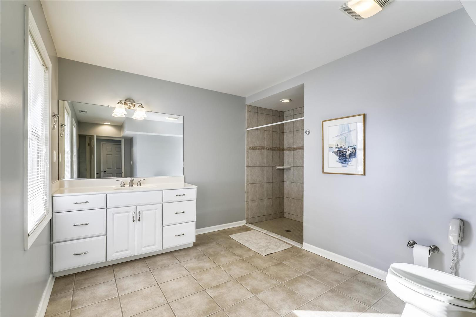 12938 Sunset Ave. - Lower Level Bathroom