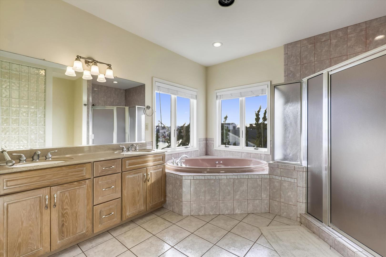 12938 Sunset Ave. - Second Level Master Bathroom